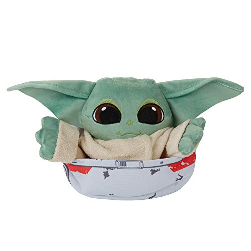 Star Wars The Bounty Collection The Child Hideaway Hover-Pram Plush 3-in-1 The Mandalorian Toy, Toys for Kids Ages 4 and Up