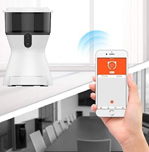 Warm Thuis Mode Smart Automatische Feeder Honden Kat Voedsel Oplaadbare Video Monitor Automatische Huisdier Feeder 4L Wifi Afstandsbediening Huisdier Feeder Nice