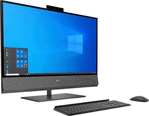 HP Envy 32 Desktop 8TB SSD 64GB RAM Extreme (Intel Core i7-9700K Processor 3.60Ghz Turbo Boost to 4.90GHz, 64 GB RAM, 8 TB SSD, 32″ 4K UHD (3840 x 2160), Win 10) PC Computer All-in-One