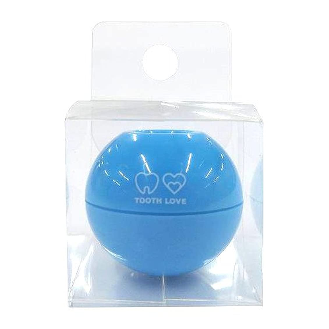 精神医学伝統安息TOOTH LOVE BALL ホルダー (歯間ブラシホルダー) ブルー