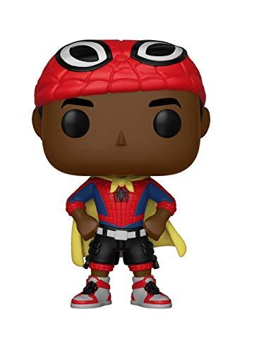 Funko Pop: Marvel: Spider-Man Animated: Miles con Cape (Bobblehead), Multicolor, 33976