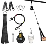 Zepofit Home Gym Kit LAT Cavo Puleggia Sistema FAI DA TE Set Basic Kit
