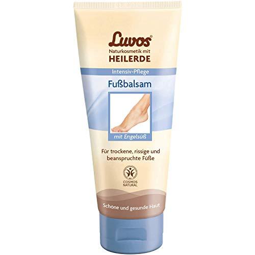 Luvos Heilerde Fußcreme Vegane Kosmetik Intensivpflege Hornhautcreme 1 X 75 Ml