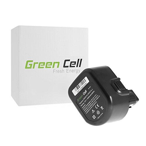 Green Cell Batería de Herramienta Eléctrica para DeWalt DC740 (Ni-MH celdas 3000mAh 12V)