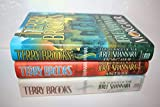 Terry Brooks' The Voyage of the Jerle Shannara 3-book set [Antrax / Morgawr / Ilse Witch]
