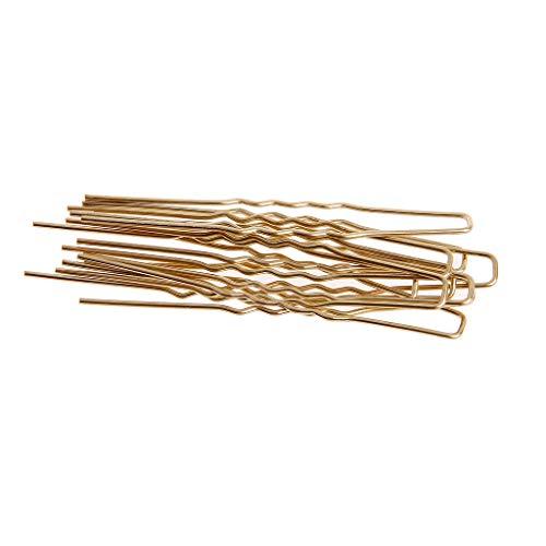 fivekim jackyee 65MM Invisible Hair Fork - Or 10 PCS U en Forme de Cheveux en Épingle À Cheveux Pinces À Cheveux Bobby Pins en Métal Barrette Femmes Vaisselle Outils