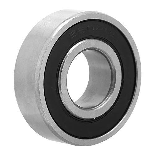 Cojinete de ranura profunda, rodamiento de bolas 6202-RS 10 Paquetes de rodamientos de bolas de 15 mm con cojinete Rodamiento de bolas de acero con ranura profunda