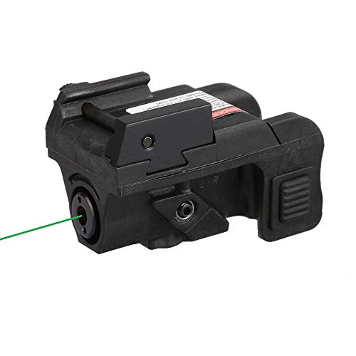HiLight P3G Low Profile Green Laser Sight for Sub-Compact and Compact Pistols