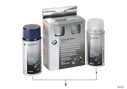BMW-Lackspray-Set, 2x 150ml, Alpin-Weiß III, Uni Code 30051911052275