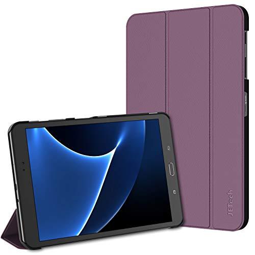 JETech Hülle für Samsung Galaxy Tab A 10,1 2016 (T580 / T585, Nicht für Modell 2019), Schutzhülle mit Ständer Funktion & Auto Schlaf/Wachen, Lila