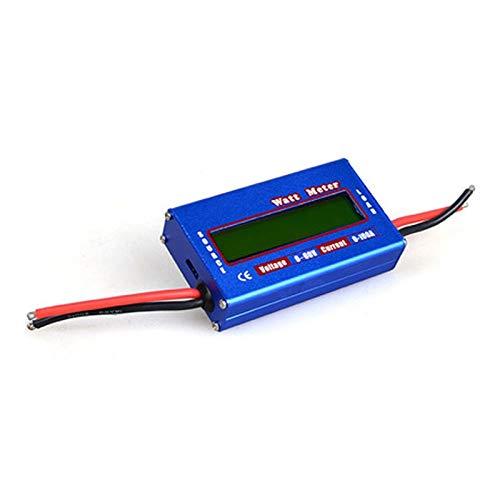 JCMY Pantalla LED DC 60V 100A Medidor de Potencia 0-100A medidor de Corriente de la batería 0-60V Analizador Watt Meter Medición de Voltaje Actual Voltímetro Digital LED