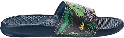 Nike Wmns Benassi JDI Print, Zapatos de Playa y Piscina Mujer, Multicolor (Nightshade/Nightshade 302), 35.5 EU