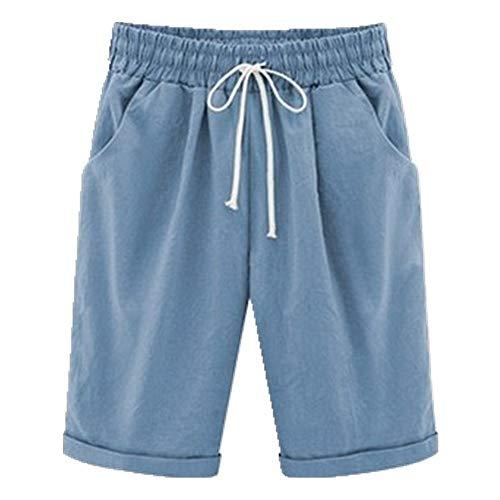 N\P Pantalones cortos de verano para mujer, tallas grandes