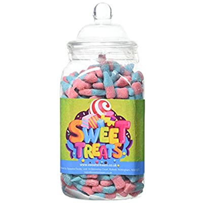 mr tubbys fizzy blue bottles - sweets n treats green label - medium jar 650g(pack of 1) Mr Tubbys Fizzy Blue Bottles – Sweets n Treats Green Label – Medium Jar 650g(Pack of 1) 41OFDwbTWFL
