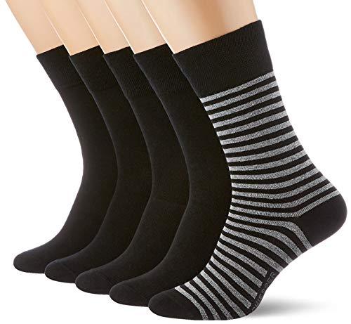 Schiesser Herren Multipack 5 Pack Herrensocken Strümpfe Socken, Sortiert 1, 39-42 EU