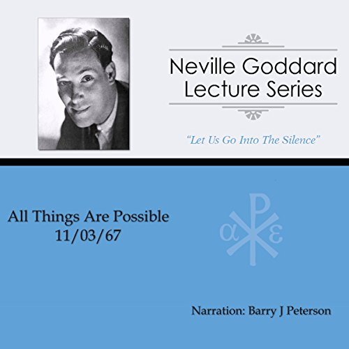 All Things Are Possible (1967) audiobook cover art