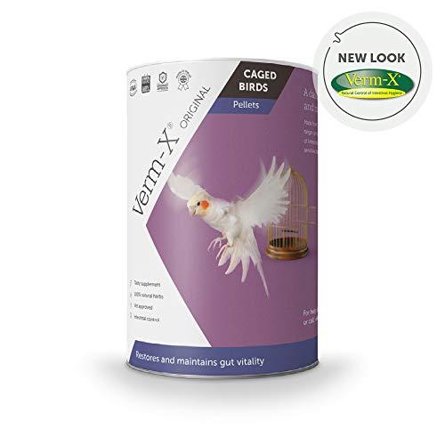 Verm-X heupellets Für Sperrten Vögel-100 G Tube, Clear, Unisex