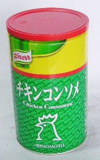 【中華食材】クノール(業務用)チキンコンソメ 1kg缶★