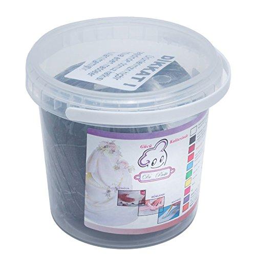 Dr paste - Fondant (1 kg), color negro