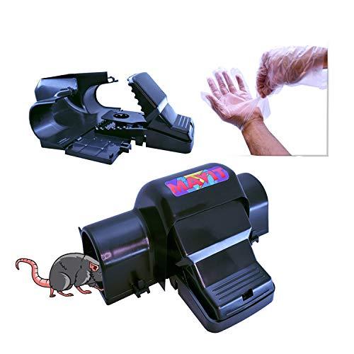 Mavit 2 Pack Pest Control Dual Entry, Rat Traps, Humane Mouse Traps For...