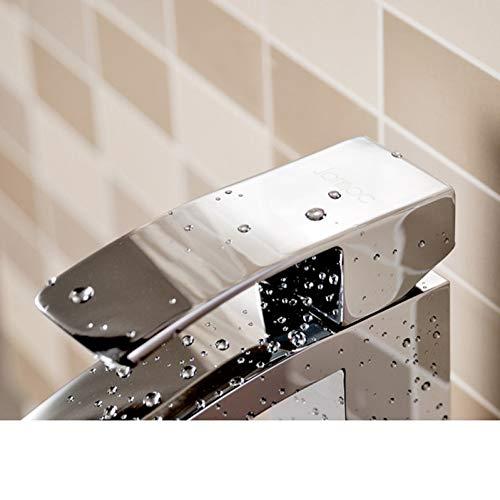 OEWFM Wasserhahn Concept Deck Mount Wasserfall Messing Waschbecken Mischbatterie Chrom Wasserhahn