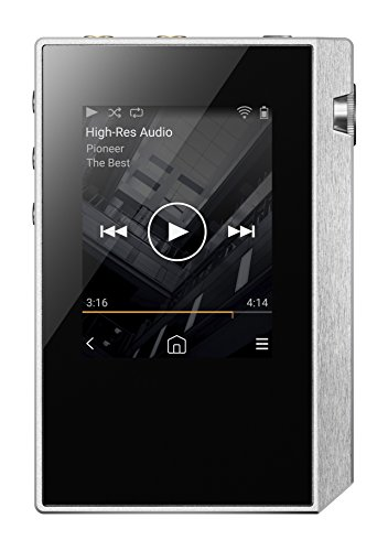 Pioneer Hi-Res Digital Audio Player, Silver XDP-30R(S)
