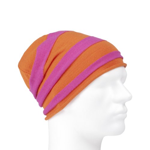 POC Beanie Striped, orange/cerice, ONE Size, SG6409