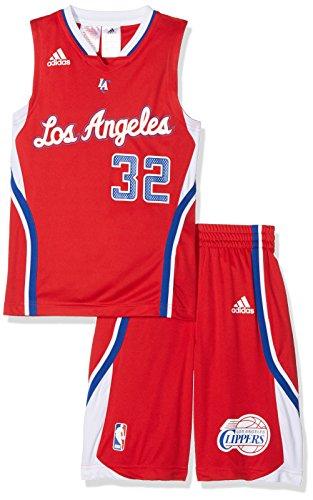adidas Conjunto Deportivo Los Angeles Clippers Rojo/Blanco 14 años (164 cm)