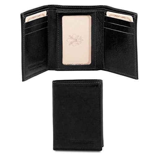 Tuscany Leather Esclusivo portafoglio in pelle Nero