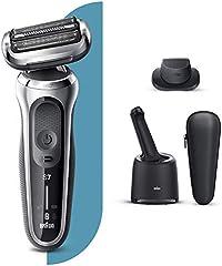 Braun Series 7 70-S7200cc Afeitadora Eléctrica, máquina de afeitar hombre de lámina Con Centro De Limpieza SmartCare,...