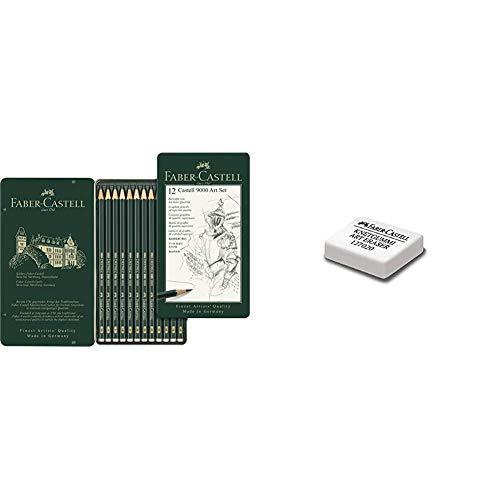 Faber-Castell 119065 Matita & Gomma Pane 7020'Bianca' Faber-Castell