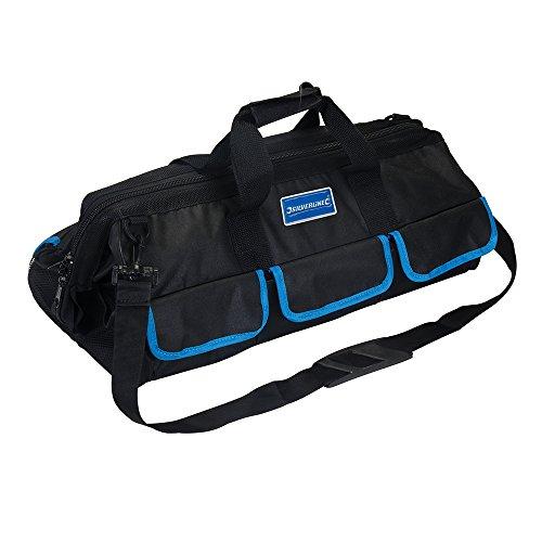 Silverline 918546 Werkzeugtasche mit 18 Fächern 620 x 240 x 240 mm