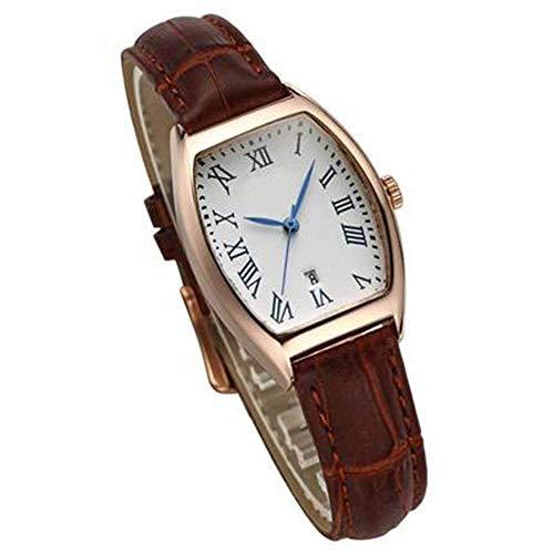 North King Quarz-Uhren für Frauen Wasserdicht Damen Handgelenk Watch Legierung Blatt Wasserdicht-Like A Wein geprägt