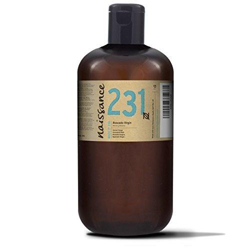Naissance Huile d'Avocat Vierge (n° 231) - 1 litre - 100% pure, naturelle, non-raffinée et pressée à froid - végan, non testée sur les animaux