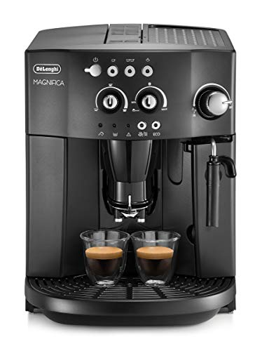 De'Longhi Esam4000.b Magnifica Bean to Cup Coffee Machine, 15 Bar - Black
