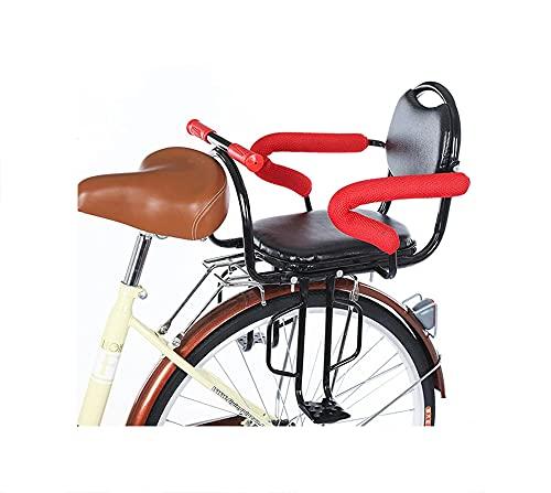YTGH Cojín para Asiento Trasero de Bicicleta Niños Bebé Bicicleta Silla de Seguridad para Niños de 2 a 6 Años Accesorios de Bicicleta Niños Viajes al Aire Libre