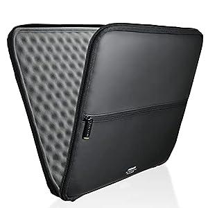 エレコム パソコンケース インナーバッグ 13.3インチ対応 MacBook Air, Pro 13inchモデル 【2020年11月発売 M1チップモデル対応】 衝撃吸収 ZEROSHOCK スリム ブラック ZSB-IBUB02BK