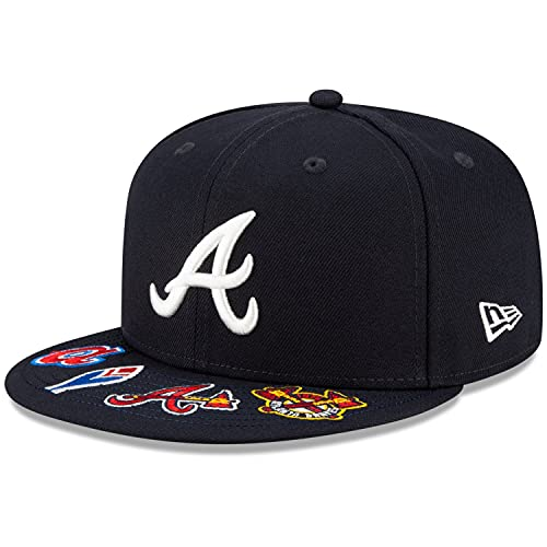 New Era 59Fifty Gorra ajustada, diseño gráfico VISOR MLB Teams