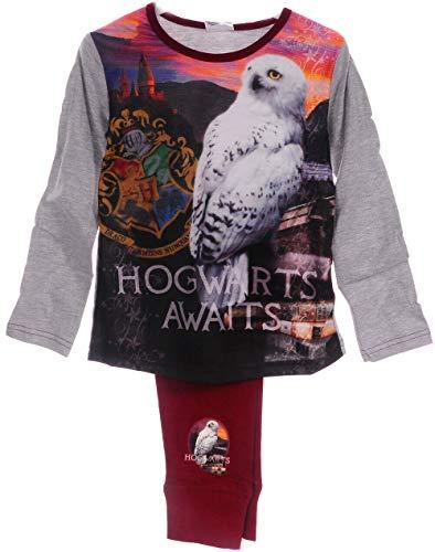 Pyjama Harry Potter Schlafanzug Hose Langarmshirt 116 122 128 134 140 146 152 (7-8...