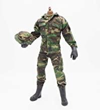 Green Soldier Uniforms Set for 12