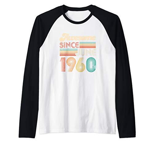 Geburtstag Langarmshirt Geburtstagsgeschenk 60 Jahre 1960 Geschenk 60