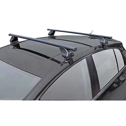 Twinny Load K02842031 Juego Techo de Acero S31 Compatible con Audi A4 2008-/Renault Scenic/Megane 5 Puertas 2009-(para Coches sin Barras longitudinales)