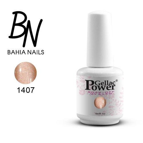Bahia Nails - Power Gellac Tenue Parfaite? Vernis à Ongles UV Ou LED Semi Permanent 15 ml. 1407