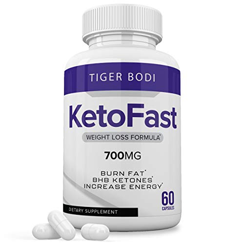 Keto Fast Diet Pills, Keto Fast Burn Ultra Weight Management Capsules 700 mg, Pure Keto Fast Supplement for Energy, Focus - BHB Ultra Boost Exogenous Ketones for Rapid Ketosis for Men Women