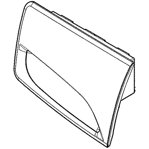 5304515237 Commercial Washer Dispenser Drawer Handle Genuine Original Equipment Manufacturer (OEM) Part