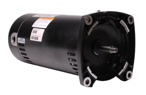 Century USQ1152 1-1/2 HP, 1.1 Service Factor, 48Y Frame, Capacitor Start/Capacitor Run, ODP Enclosure, Square Flange Pool Motor