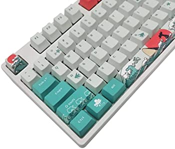 COSTOM PBT Dye Sublimation Upgrade 108 Keycap Set