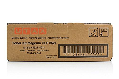 Toner Original Utax 4462110014 Magenta für ca. 5.000 Seiten, 1 Stück, passend für Utax CLP 3621, Triumph-Adler CLP 4621
