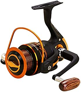 ouying1418 Ultra Light Freshwater Fishing Reel AX500-7000 Series with Metal Rocker Arm
