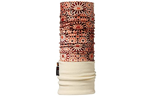 BUFF Headwear POLAR TARFAUT/CRU (crème, rood-bruin)